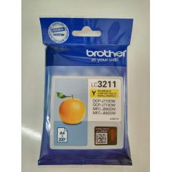 CARTUCHO DE TINTA ORIGINAL BROTHER LC3211Y