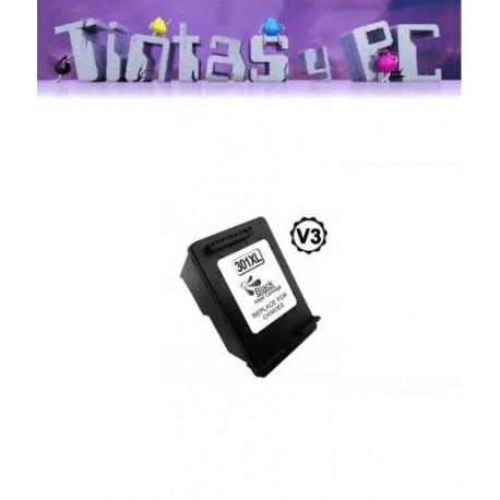 HP 301XL V3 NEGRO CARTUCHO DE TINTA REMANUFACTURADO