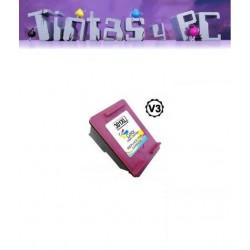 HP 301XL V3 TRICOLOR CARTUCHO DE TINTA REMANUFACTURADO (VALIDO NUEVAS IMPRESORAS)