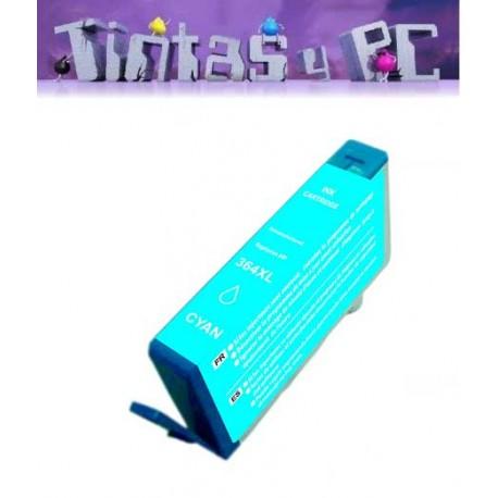 HP 364XL V2 CYAN CARTUCHO DE TINTA GENERICO