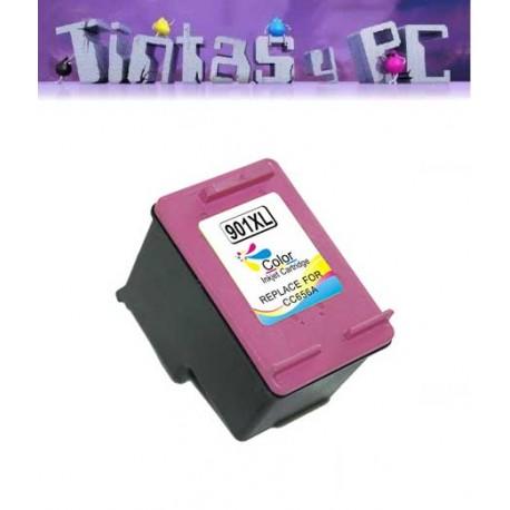 HP 901XL TRICOLOR CARTUCHO DE TINTA REMANUFACTURADO