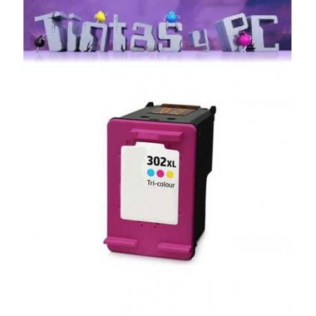 HP 302XL TRICOLOR CARTUCHO DE TINTA REMANUFACTURADO